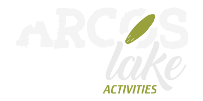 Logotipo arcos lake activities empresa de turismo activo